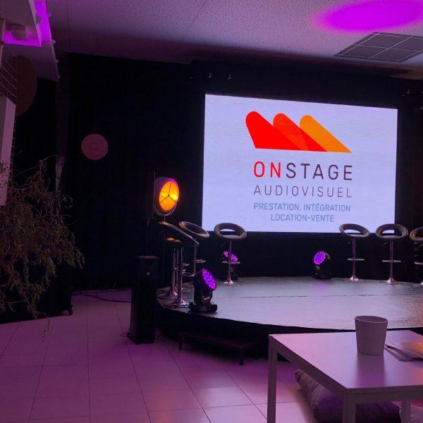 Prestation location vente audio visuel lille paris On stage8